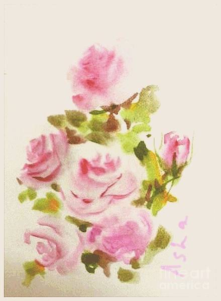 Painting - Roses Are Forever 2 by Asha Sudhaker Shenoy