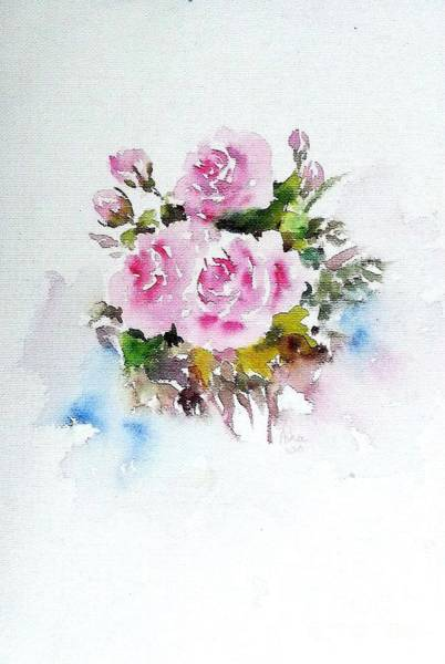 Painting - Roses Are Forever 3 by Asha Sudhaker Shenoy