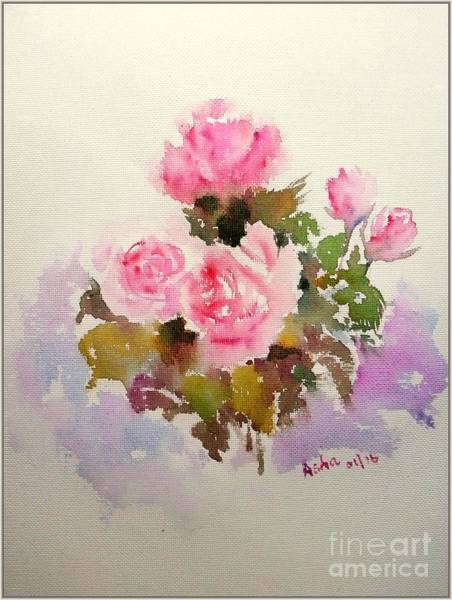 Painting - Roses Are Forever by Asha Sudhaker Shenoy
