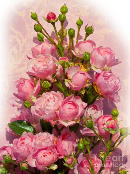 Photograph - Roses Decor by Lutz Baar