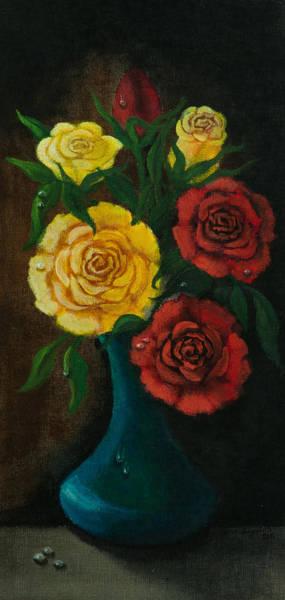 Painting - Roses by Elizabeth Mundaden