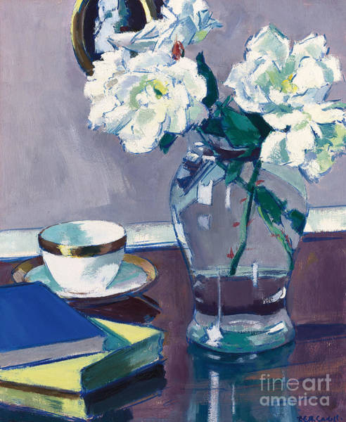 Wall Art - Painting - Roses by Francis Campbell Boileau Cadell
