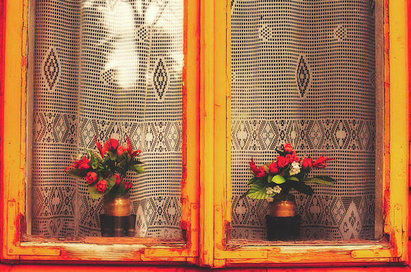 Wall Art - Photograph - Roses In The Window by Pixabay