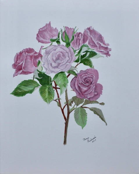 Painting - Roses by Terry Frederick