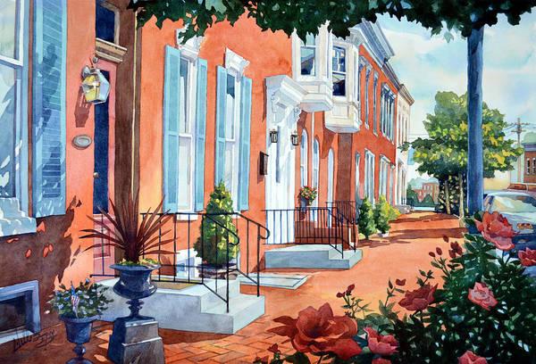 Rosewalk Art Print