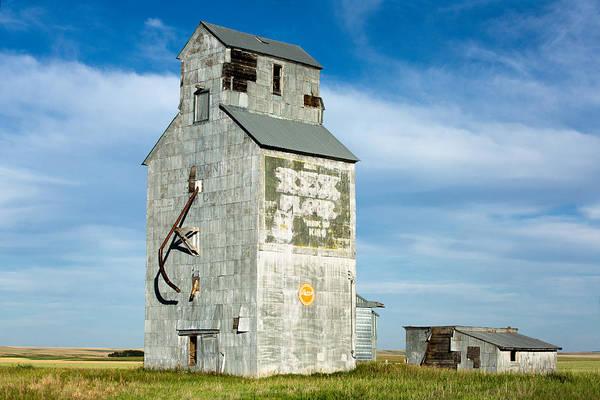Rex Photograph - Ross Fork Grain Elevator by Todd Klassy