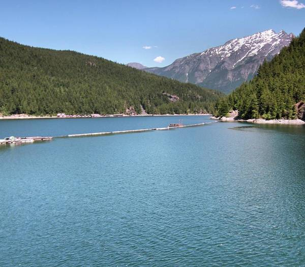 Wall Art - Photograph - Ross Lake From The Dam by Dan Sproul