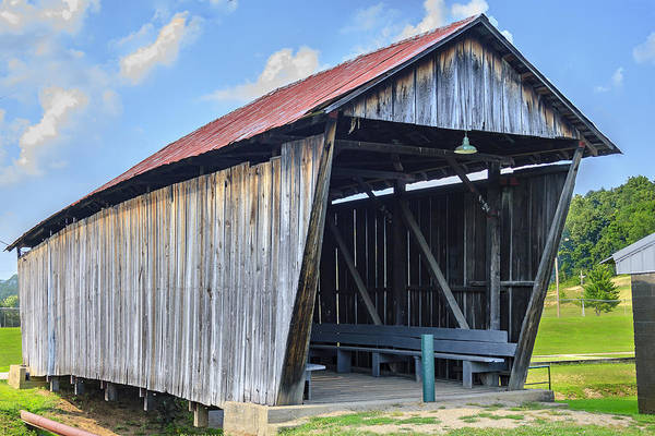 Photograph - Rosseeau/fairgrounds Covered Bridge by Jack R Perry
