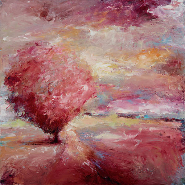 Painting - Rosy Breeze by Nan Davis