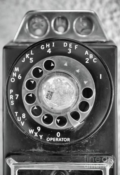 Photograph - Rotary Dial by Dale Powell