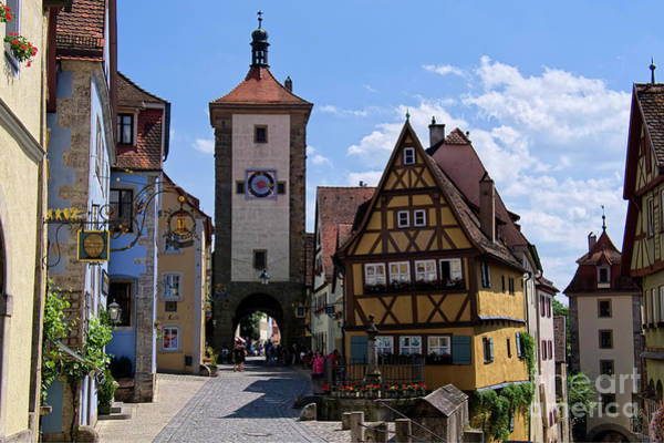 Photograph - Rothenburg Ob Der Tauber by Lucinda Walter