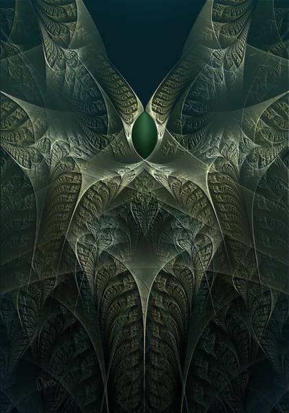 Self Similarity Digital Art - rotl_02 Lord Of the Swamp by Drasko Regul