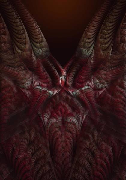 Self Similarity Digital Art - rotl_03 Lord Of the Indoors by Drasko Regul
