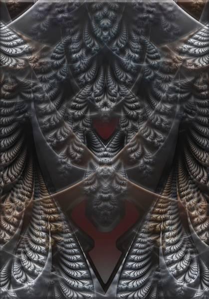 Self Similarity Digital Art - rotl_04 Lord Of the Yonder by Drasko Regul