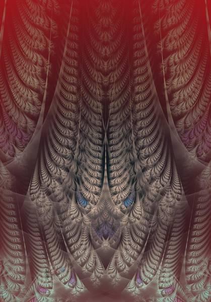 Self Similarity Digital Art - rotl_05 Lord Of the Heat by Drasko Regul