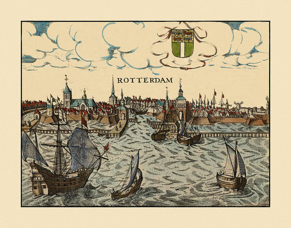 Photograph - Rotterdam 1650 by Andrew Fare