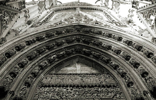 Wall Art - Photograph - Rouen Cathedral Facade by RicardMN Photography