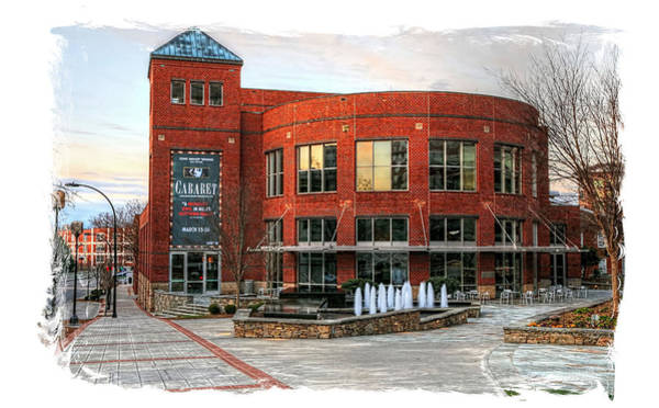 Photograph - Rough Edge Gunter Theater At The Peace Center, Greenville South Carolina by Carol Montoya