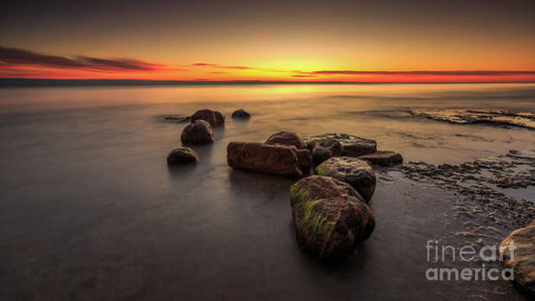 Wall Art - Photograph - Rough Harrington Sunrise by Andrew Slater