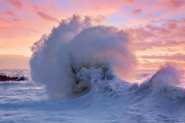 Photograph - Rough Sea 34 by Giovanni Allievi