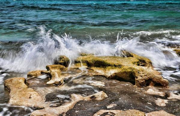 Photograph - Rough Seas At Blowing Rock by Carol Montoya
