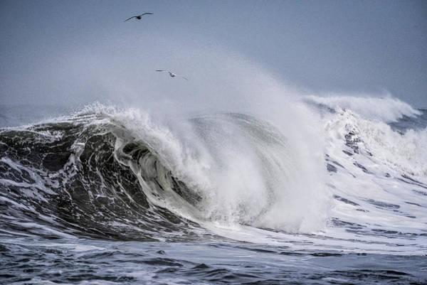 Photograph - Rough Seas by Robert Potts