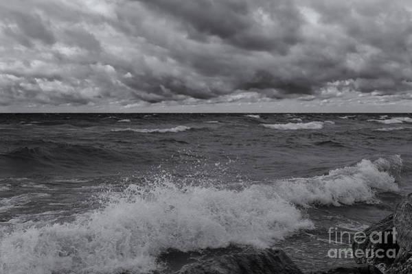 Photograph - Rough Surf by Rachel Cohen