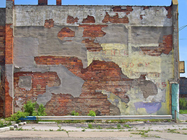 Urban Decay Wall Art - Photograph - Rough Wall by David Kyte
