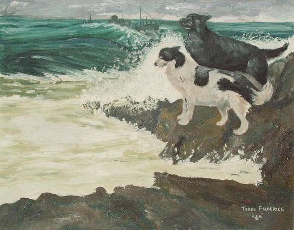 Painting - Roughsea by Terry Frederick