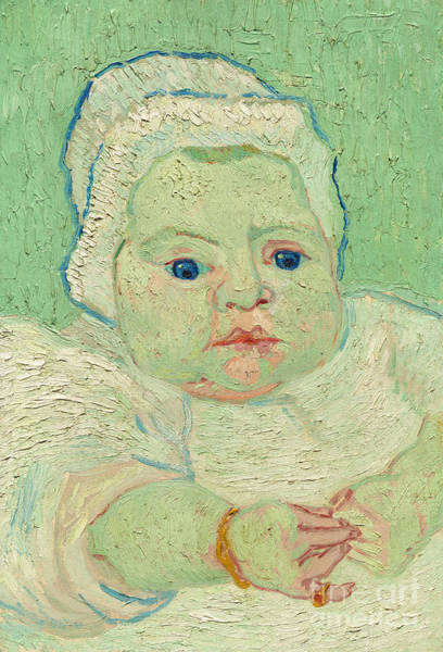 Painting - Roulin's Baby, 1888 by Vincent Van Gogh