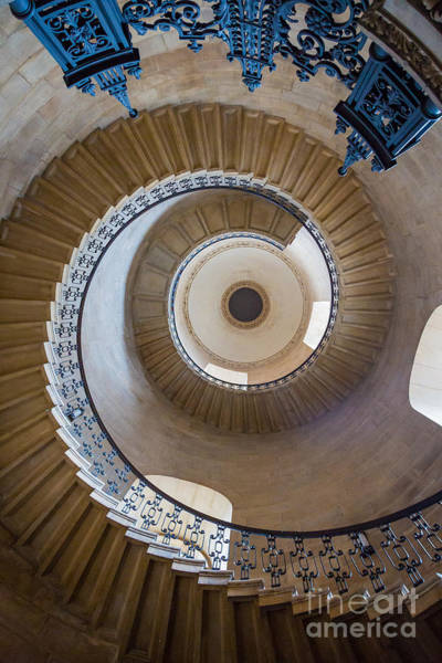 Stairs Photograph - Round And Round by Inge Johnsson