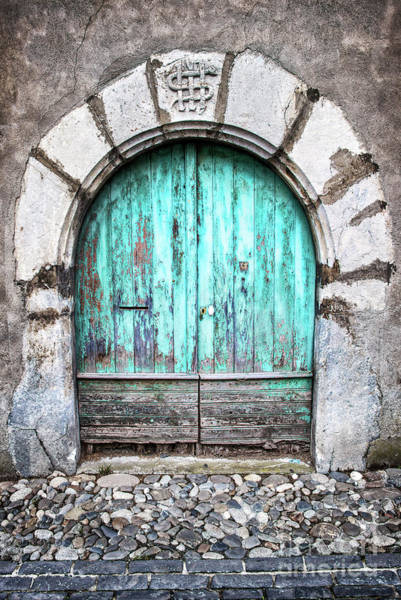 Village Gate Photograph - Round Door by Delphimages Photo Creations