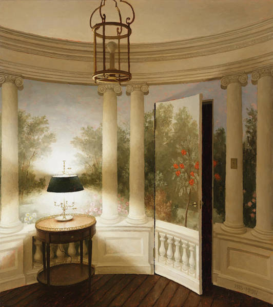 Painting - Round Room by Harry Steen