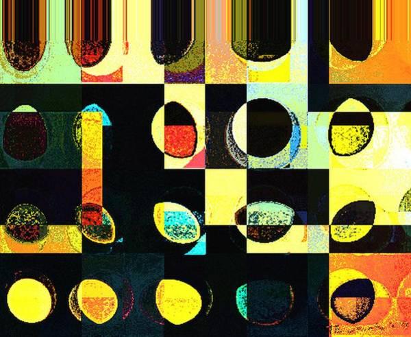 Digital Art - Round Series 50 by Teodoro De La Santa