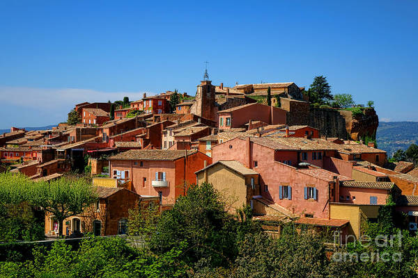 Wall Art - Photograph - Roussillon by Olivier Le Queinec