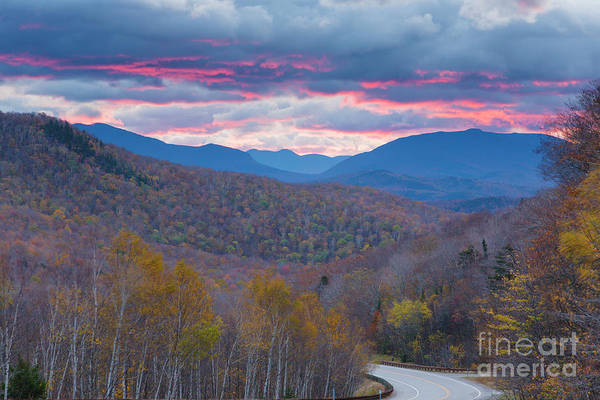 Photograph - New Hampshire, Route 112 - Kinsman Notch by Erin Paul Donovan