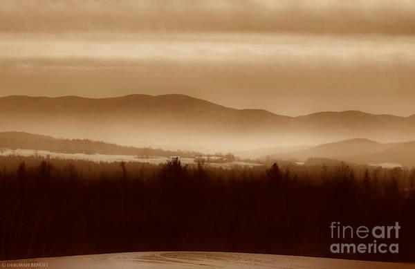 Photograph - Route 120 Vermont View by Deborah Benoit
