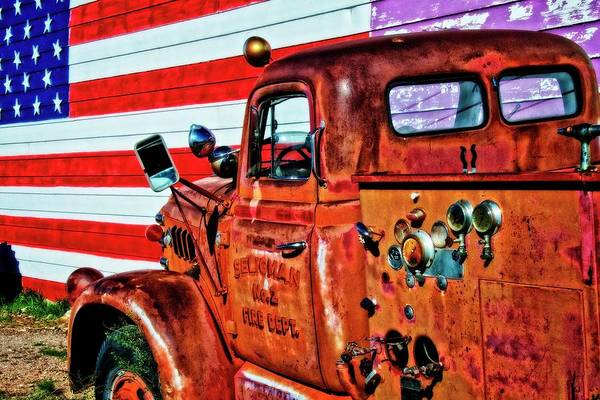 Photograph - Route 66-all American by Flying Z Photography by Zayne Diamond
