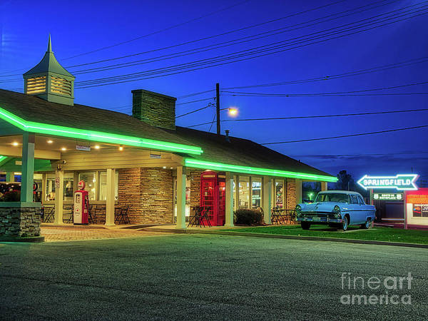 Photograph - Route 66 Best Western by Phil Spitze