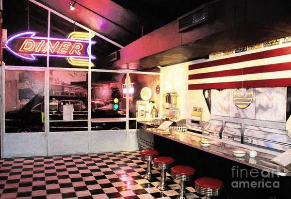 Photograph - Route 66 Diner by Mel Steinhauer