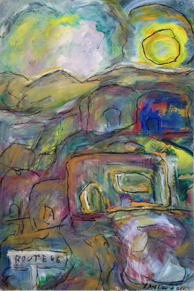 Pastel - Route 66 by Katt Yanda