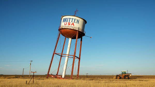Wall Art - Photograph - Route 66 Leaning Water Tower by Stephen Stookey