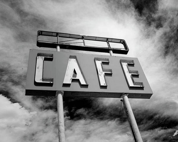 Wall Art - Photograph - Route 66 Midpoint Cafe by Stephen Stookey