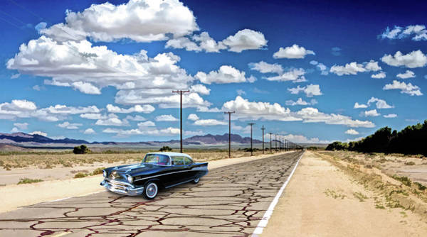 Painting - Route 66 Newberry Springs California by Christopher Arndt