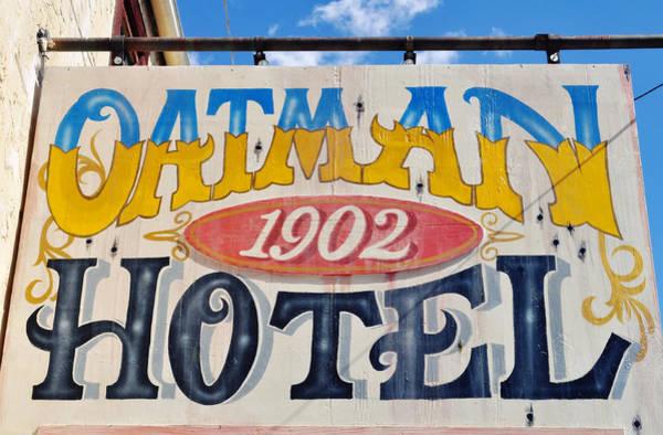 Photograph - Route 66 Oatman Hotel by Kyle Hanson