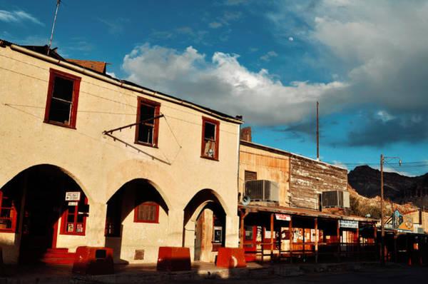 Photograph - Route 66 Oatman Hotel Sunset by Kyle Hanson