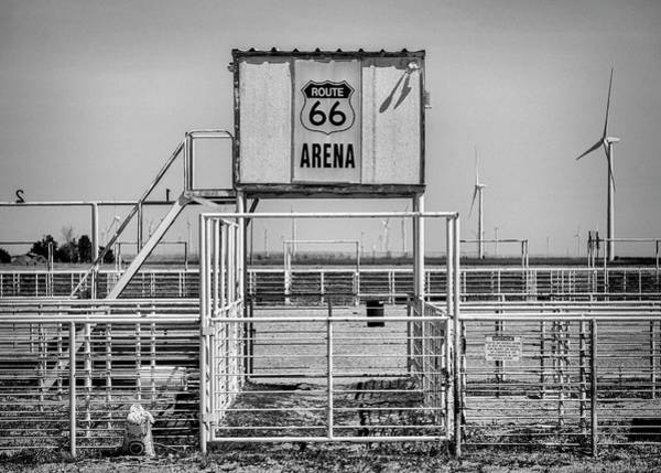 Wall Art - Photograph - Route 66 Ranch Rodeo Arena - #2 by Stephen Stookey