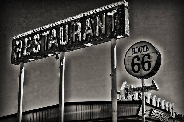 Photograph - Route 66 Restaurant by Patricia Montgomery