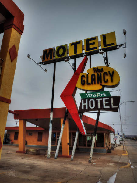 Photograph - Route 66 - The Clancy Motel 001 by Lance Vaughn