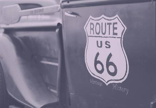 Wall Art - Photograph - Route 66 Truck by Dan Sproul